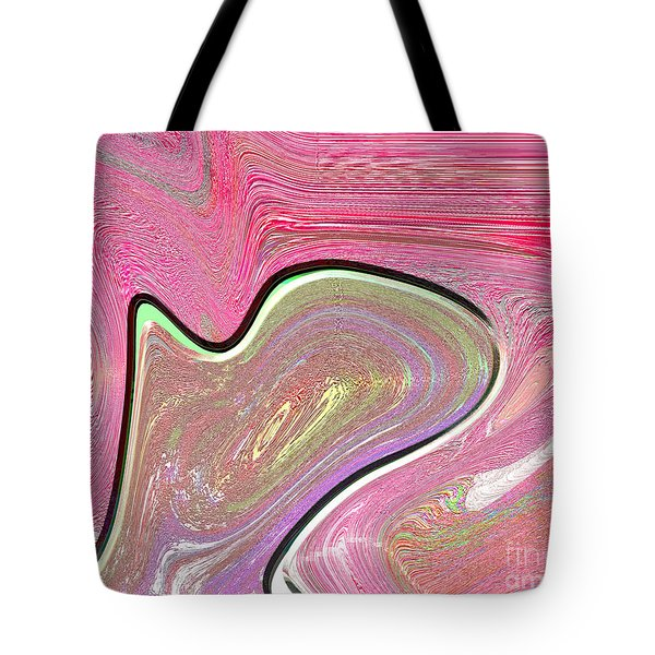 1211 Abstract Thought Tote Bag by Chowdary V Arikatla