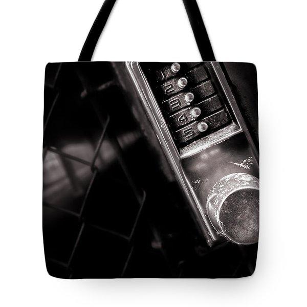 12345 Tote Bag by Bob Orsillo