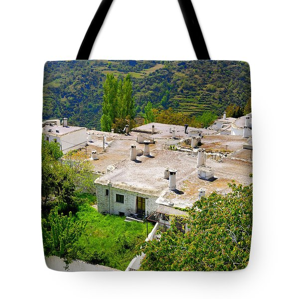 Alpujarras In Granada Tote Bag by Guido Montanes Castillo
