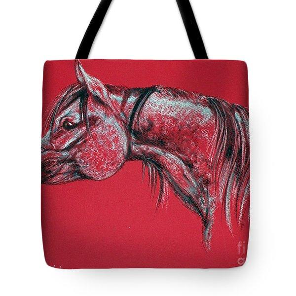 Arabian Horse  Tote Bag by Angel  Tarantella