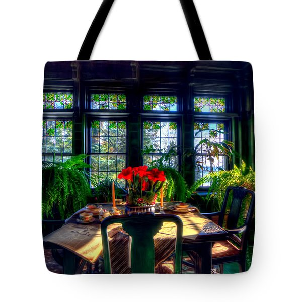 Glensheen Mansion Duluth Tote Bag by Amanda Stadther