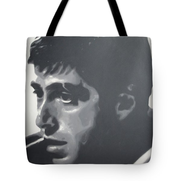 Scarface Tote Bag by Luis Ludzska