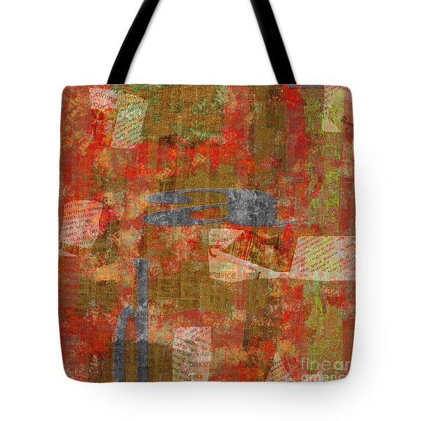 1352 Abstract Thought Tote Bag by Chowdary V Arikatla