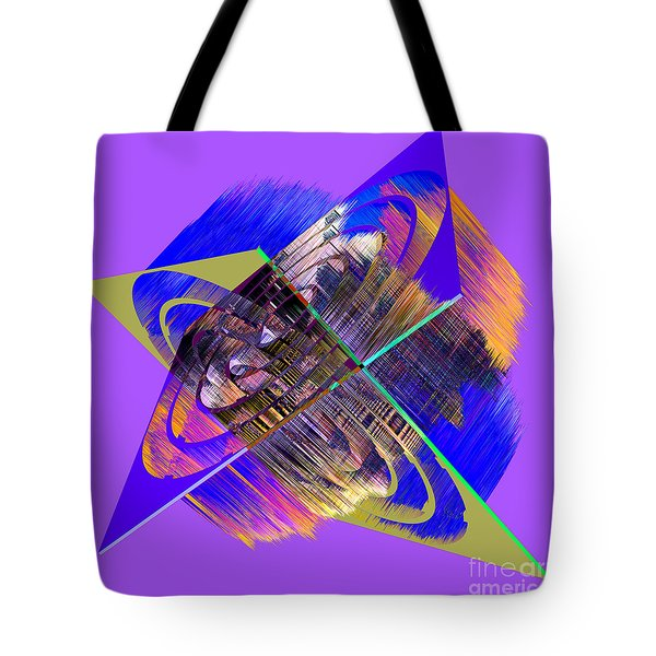 1422 Abstract Thought Tote Bag by Chowdary V Arikatla