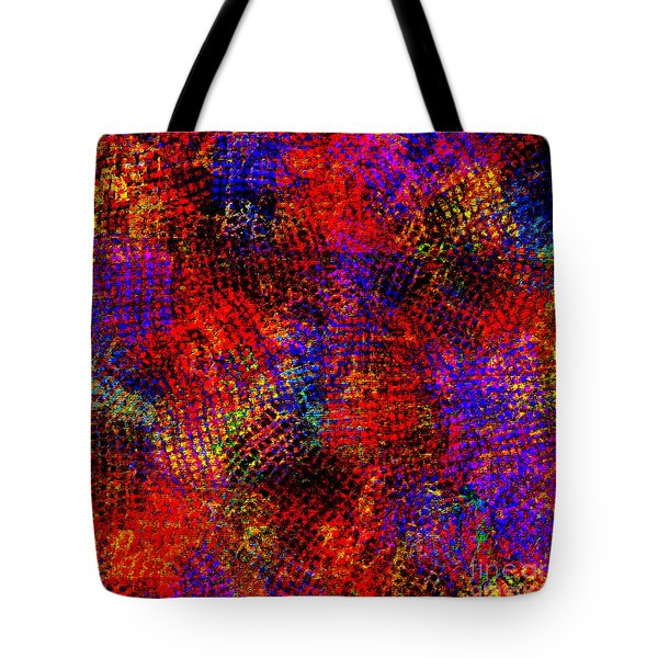1432 Abstract Thought Tote Bag by Chowdary V Arikatla