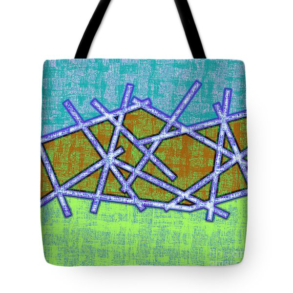 1455 Abstract Thought Tote Bag by Chowdary V Arikatla