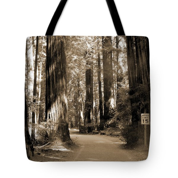 15 Mph Tote Bag by Mike McGlothlen