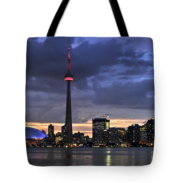 Toronto skyline Tote Bag by Elena Elisseeva