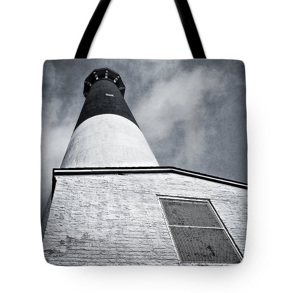 163 Feet Into The Clouds Tote Bag by Mark Miller
