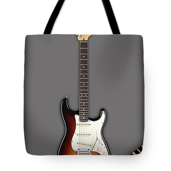 Fender Stratocaster Collection Tote Bag by Marvin Blaine