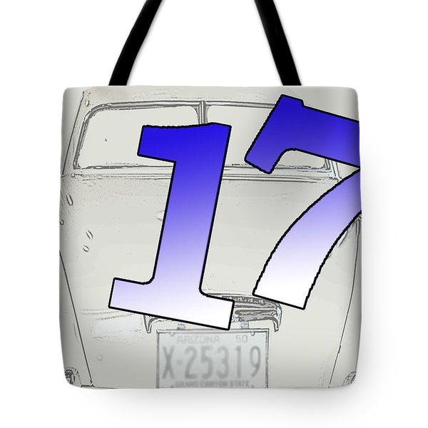 17th Birthday Tote Bag by Randi Grace Nilsberg