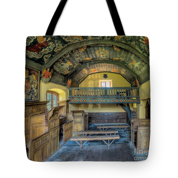17th Century Chapel Tote Bag by Adrian Evans