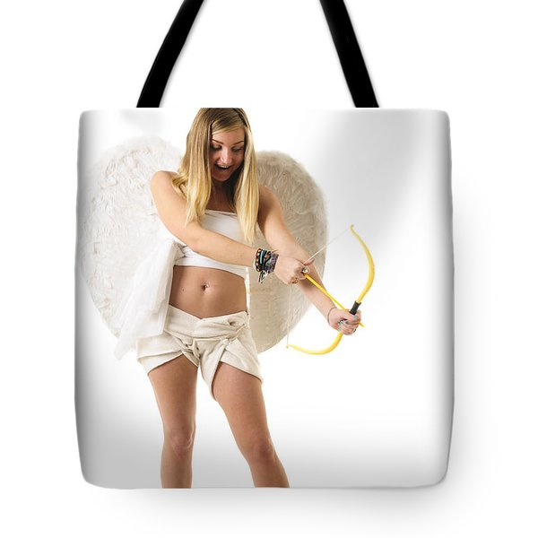Cupid the god of desire Tote Bag by Ilan Rosen