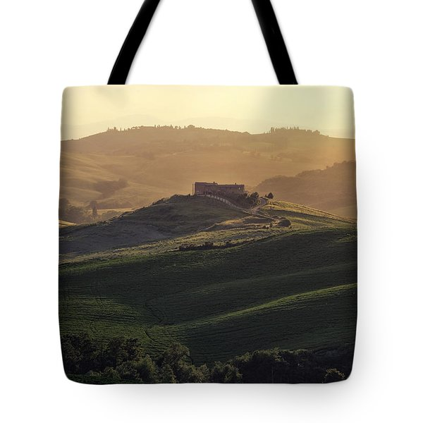 Tuscany - Val d'Orcia Tote Bag by Joana Kruse