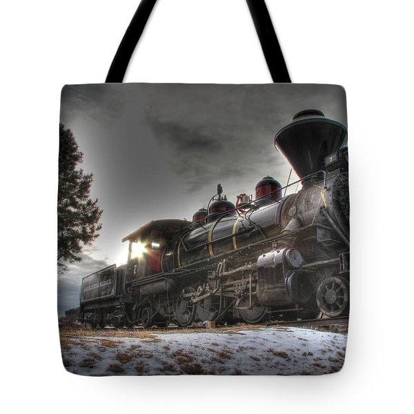 Tote Bag featuring the photograph 1880 Train by Bill Gabbert