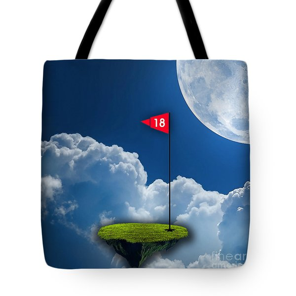 18th Hole Tote Bag by Marvin Blaine