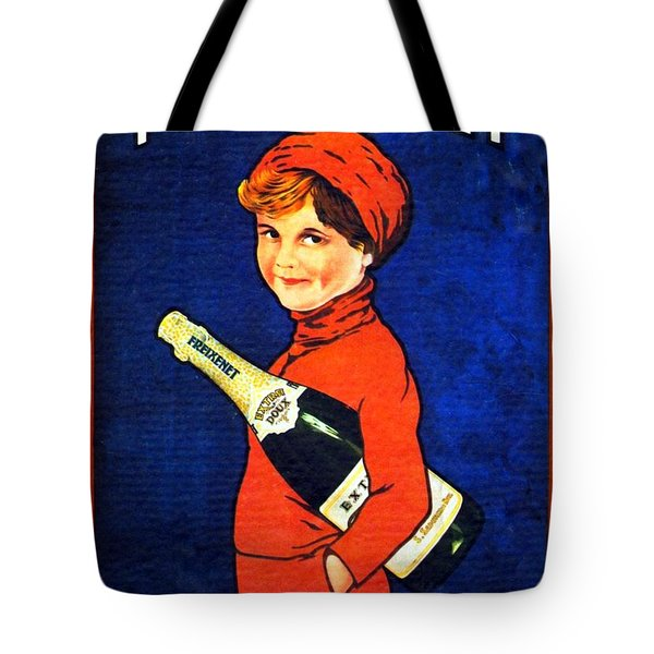 1920 - Freixenet Wines - Advertisement Poster - Color Tote Bag by John Madison