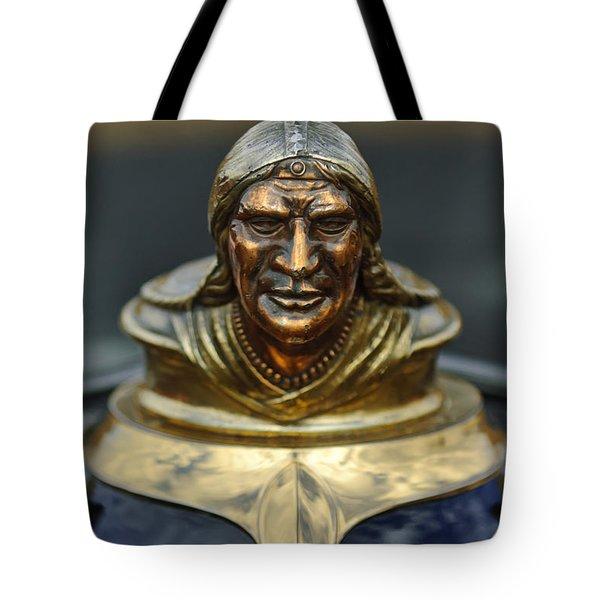 1928 Pontiac Hood Ornament Tote Bag by Jill Reger