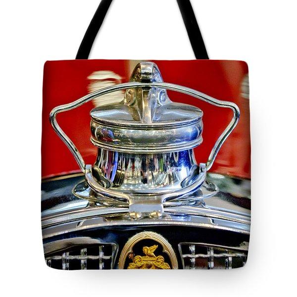 1929 Packard 8 Hood Ornament 2 Tote Bag by Jill Reger