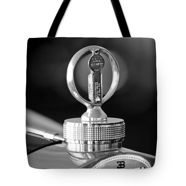 1930 Bugatti Hood Ornament Tote Bag by Jill Reger