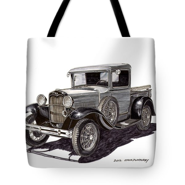 1930 Ford Model A Pick Up Tote Bag by Jack Pumphrey
