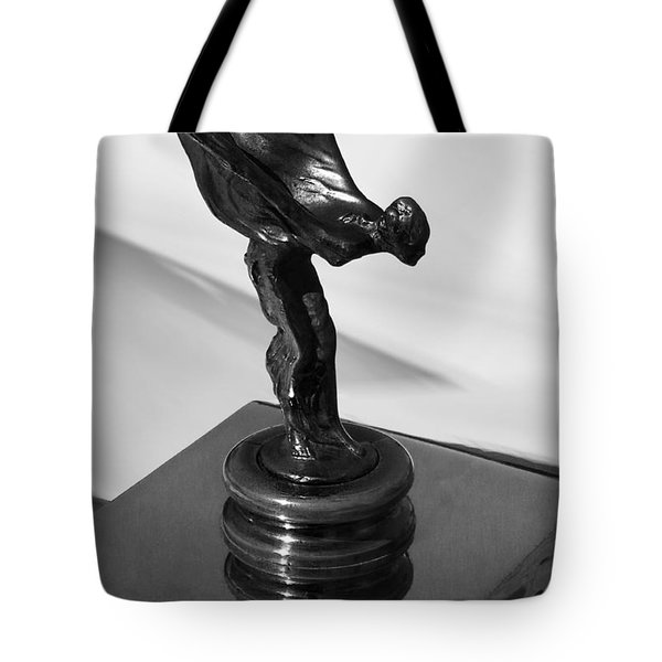 1930 Rolls Royce Emblem Tote Bag by Xueling Zou