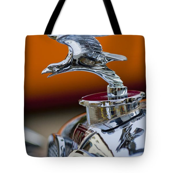 1932 Alvis Hood Ornament 2 Tote Bag by Jill Reger