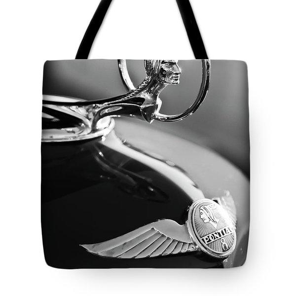 1933 Pontiac Hood Ornament 4 Tote Bag by Jill Reger