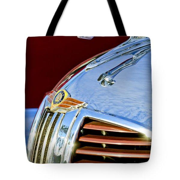 1938 Dodge Ram Hood Ornament 3 Tote Bag by Jill Reger