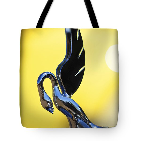 1939 Packard Hood Ornament Tote Bag by Jill Reger