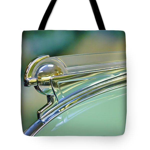 1940 Oldsmobile Hood Ornament Tote Bag by Jill Reger