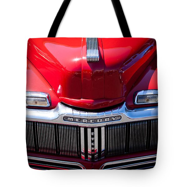 1946 Ford Mercury Eight Tote Bag by David Patterson