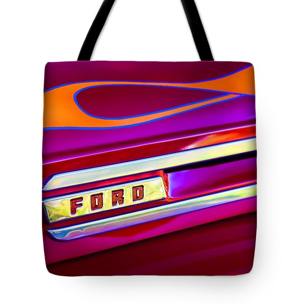 1948 Ford Pickup Tote Bag by Carol Leigh