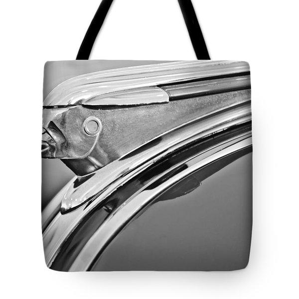 1948 Pontiac Chief Hood Ornament 2 Tote Bag by Jill Reger