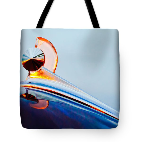 1949 Ford Hood Ornament 2 Tote Bag by Jill Reger