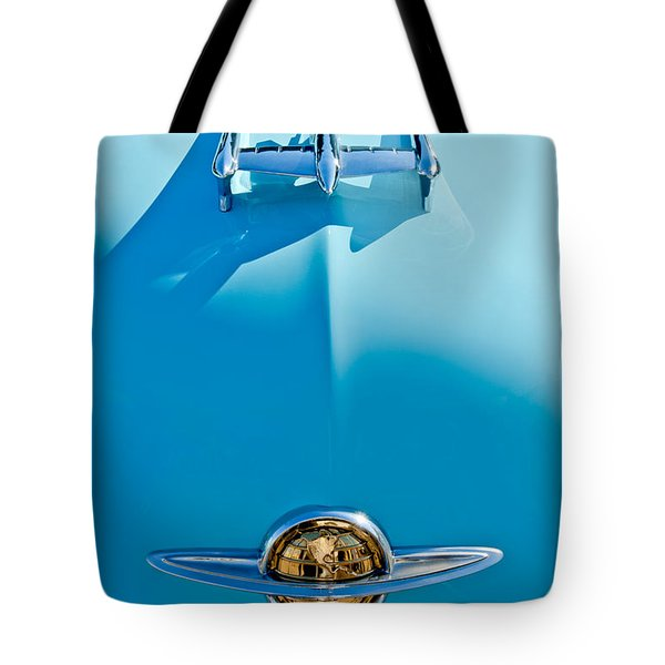 1950 Oldsmobile Hood Ornament Tote Bag by Jill Reger
