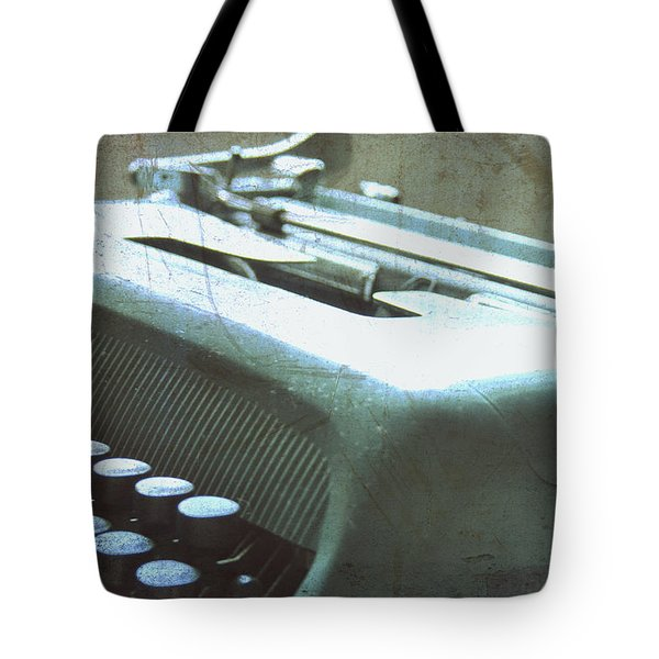 1952 Olivetti Typewriter Tote Bag by Nomad Art And  Design