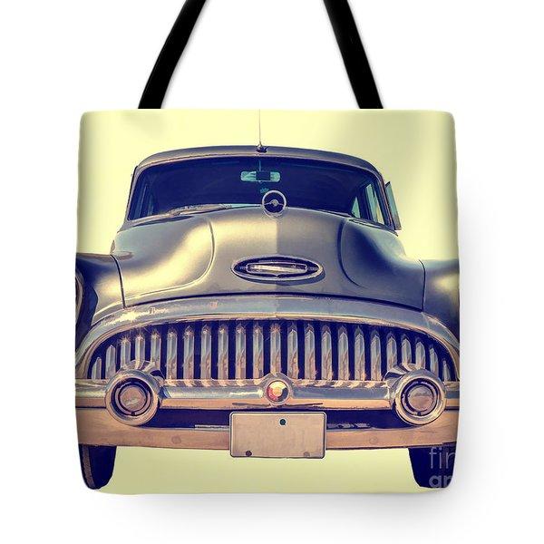 1953 Buick Roadmaster Tote Bag by Edward Fielding