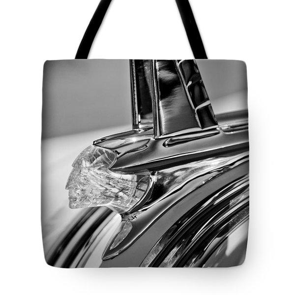 1953 Pontiac Hood Ornament 4 Tote Bag by Jill Reger