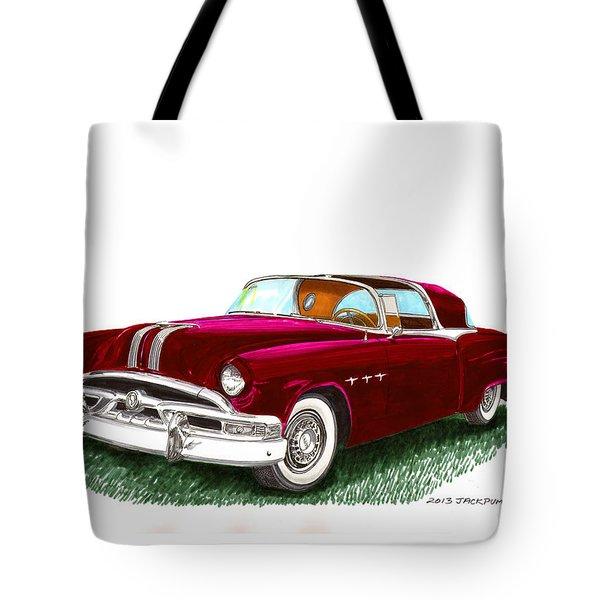 1953 Pontiac Parisienne Concept Tote Bag by Jack Pumphrey