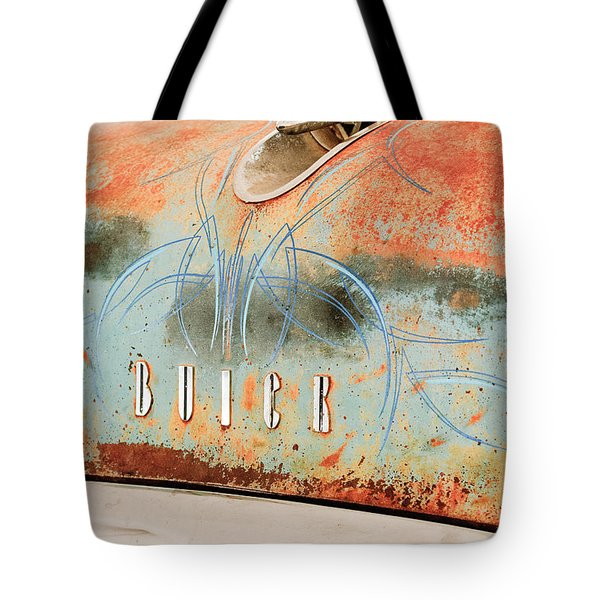1954 Buick Special Hood Ornament Tote Bag by Jill Reger