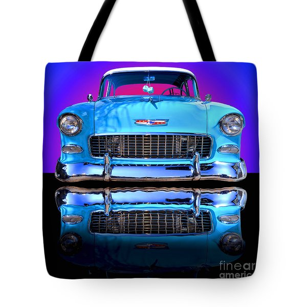1955 Chevy Bel Air Tote Bag by Jim Carrell