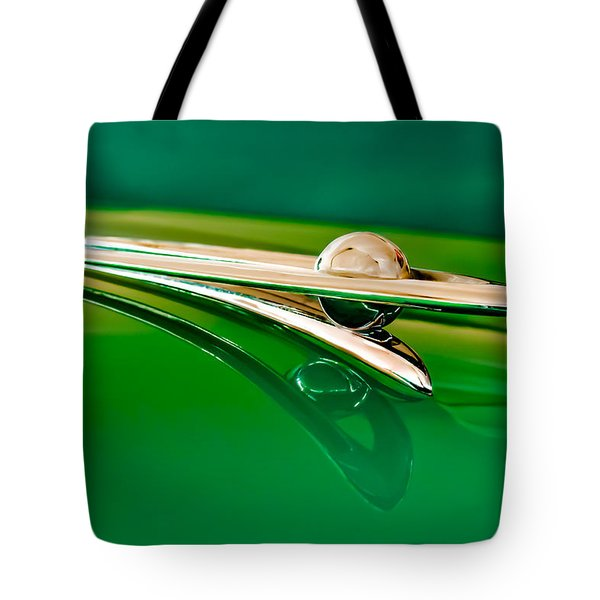 1955 Packard Clipper Hood Ornament 3 Tote Bag by Jill Reger