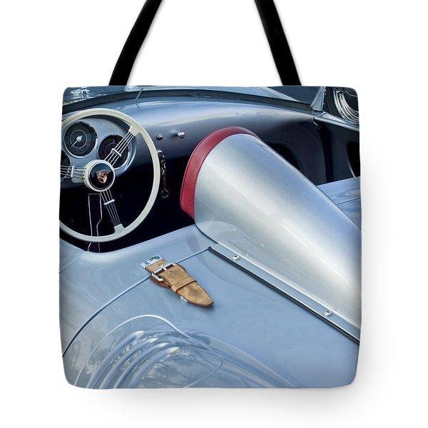 1955 Porsche Spyder  Tote Bag by Jill Reger