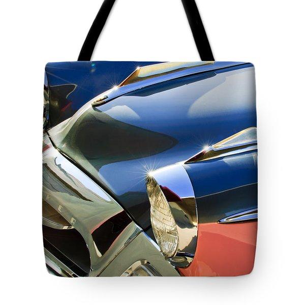 1955 Studebaker President Front End Tote Bag by Jill Reger