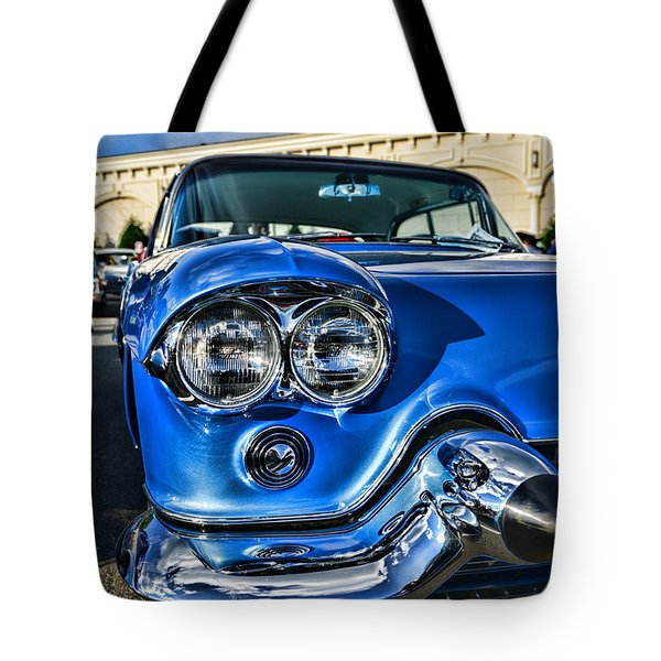 1956 Cadillac Eldorado  Tote Bag by Paul Ward