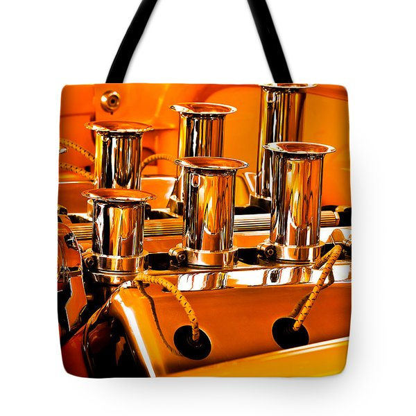 1956 Chrysler Hot Rod Tote Bag by Jill Reger