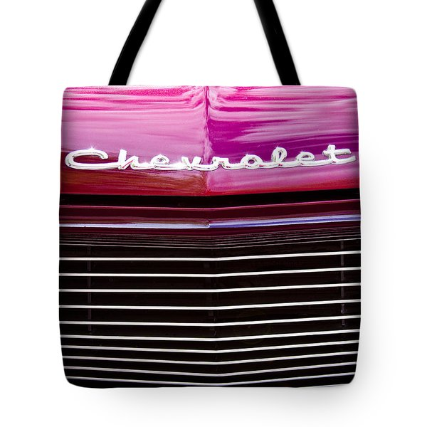 1959 Chevy Biscayne Tote Bag by David Patterson