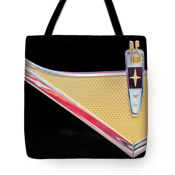 1959 DeSoto Adventurer Emblem Tote Bag by Jill Reger