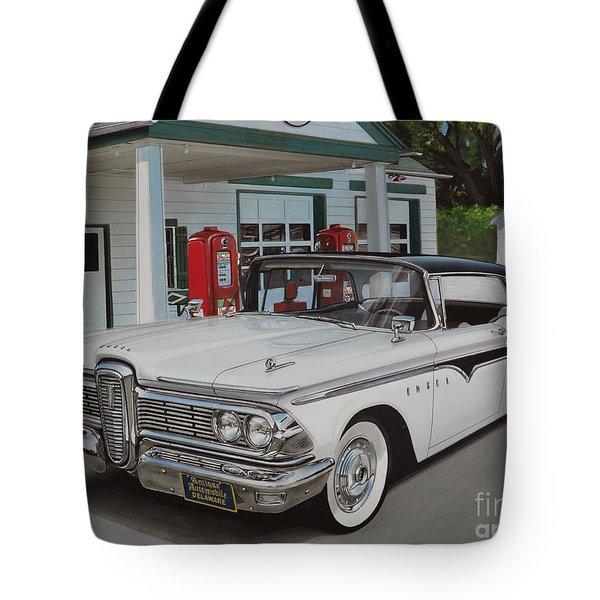 1959 Edsel Ranger Tote Bag by Paul Kuras